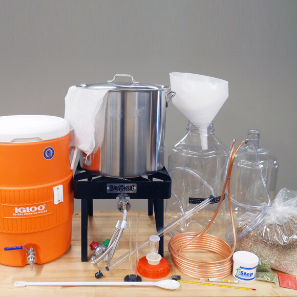All Grain Brewing Kit-3-Vessel
