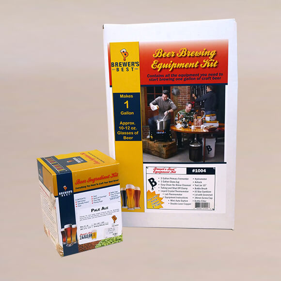 Beer Equipment Kit with Pale Ale
