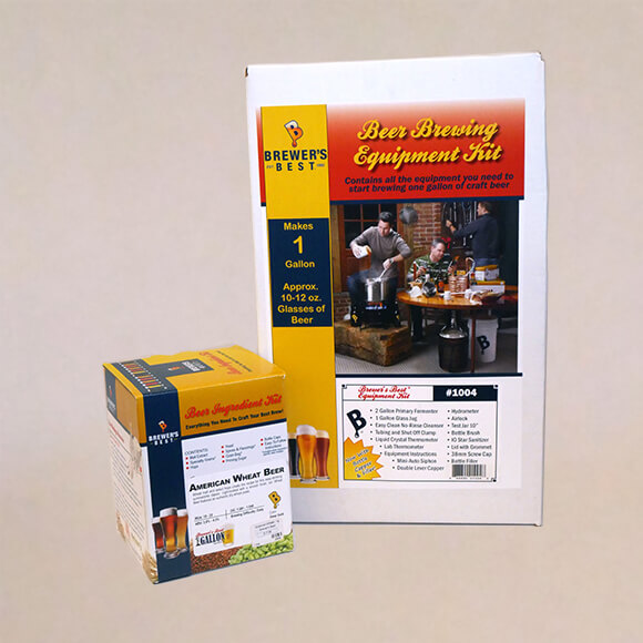 Beer Equipment Kit with Wheat Recipe