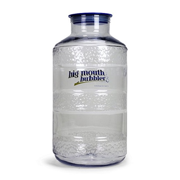6.5 Gallon PET Plastic Big Mouth Bubbler Carboy