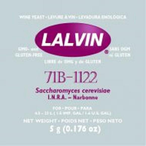Lalvin: 71B-1122 Wine Yeast