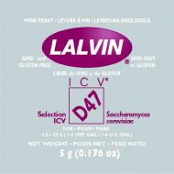 Lalvin: D-47 Wine Yeast