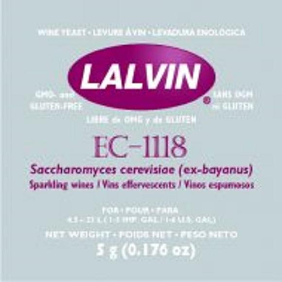 Lalvin: EC-1118 Wine Yeast