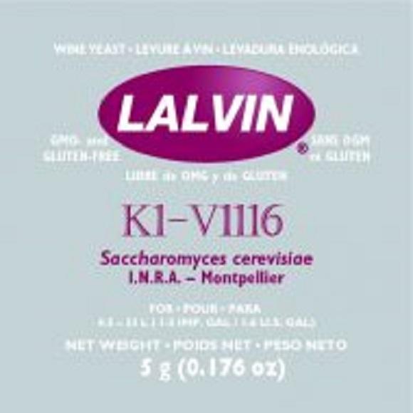 Lalvin: K1-V1116 Wine Yeast