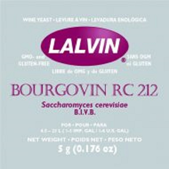 Lalvin: RC-212 Wine Yeast