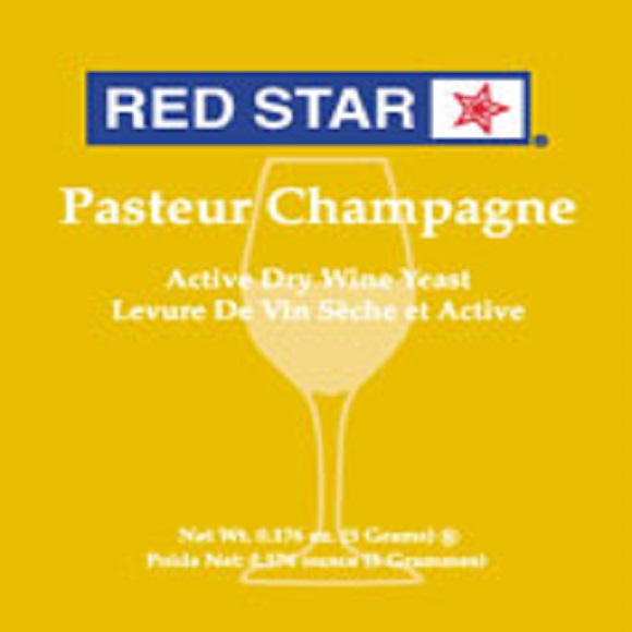 Red Star: Premier Blanc (Formerly Pasteur Champagne)