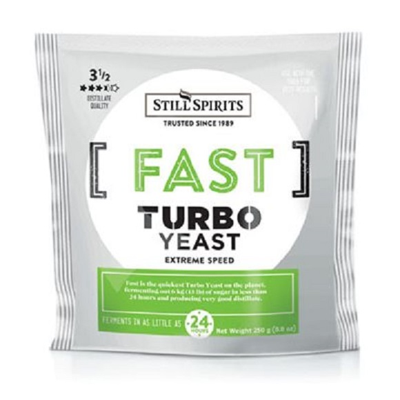 Still Spirts: Fast Turbo Yeast