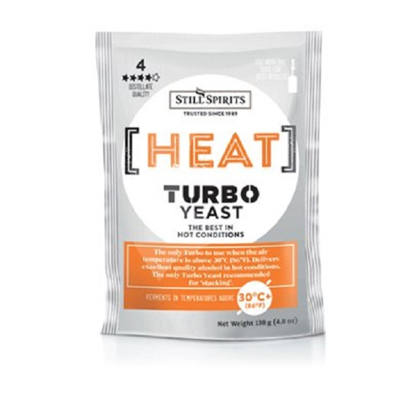 Still Spirts: Heat Turbo Yeast