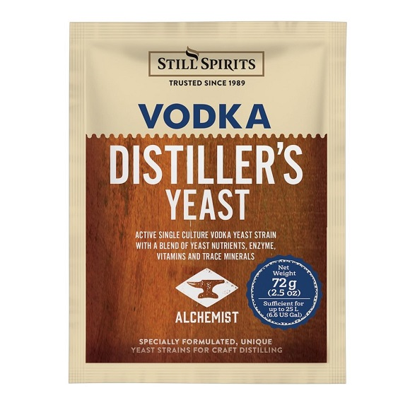 FastFerm: Vodka Turbo Yeast With Enzyme