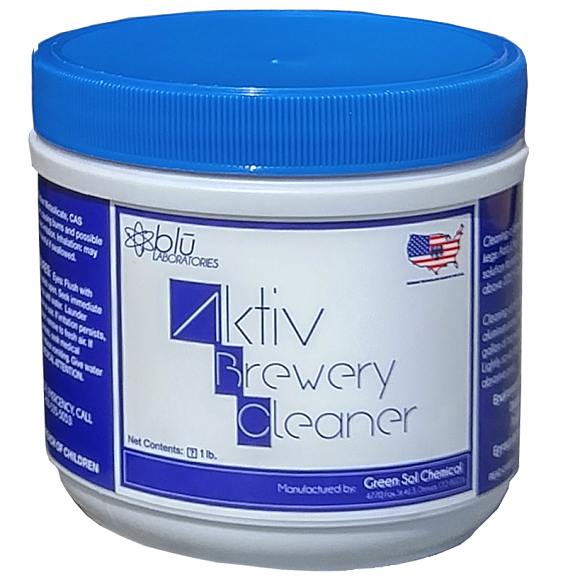 Aktiv Brewery Cleaner (ABC):  1 lb.