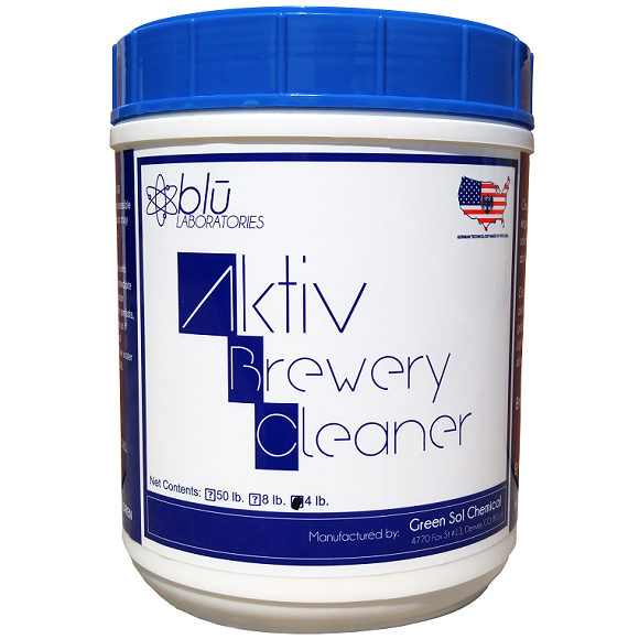 Aktiv Brewery Cleaner (ABC): 4 lbs.