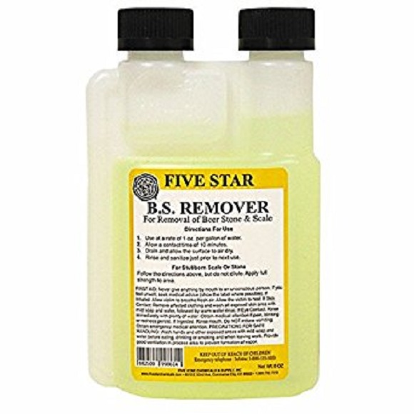 B.S. (Beer Stone) Remover: 8 oz.