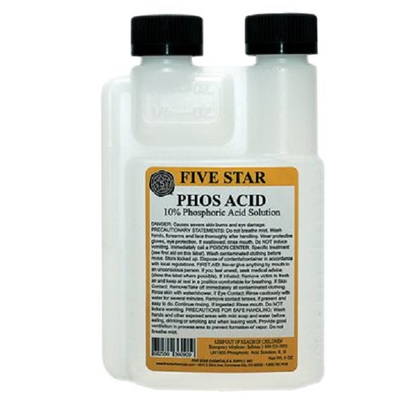 Phosphoric Acid 10% 8 oz.
