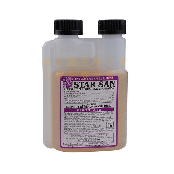 Star San – Acid Sanitizer: 8 oz.