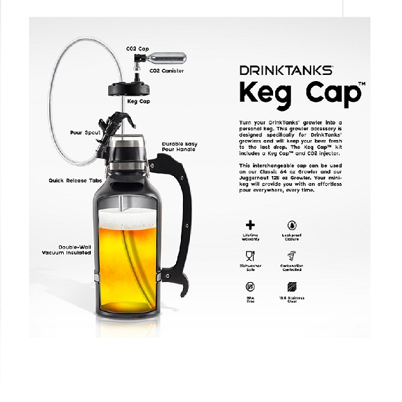 Drink Tank: Keg Cap