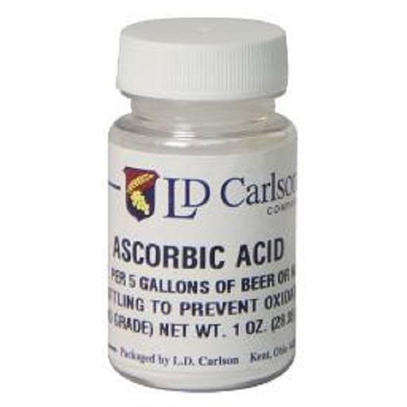 Ascorbic Acid: 1 oz.