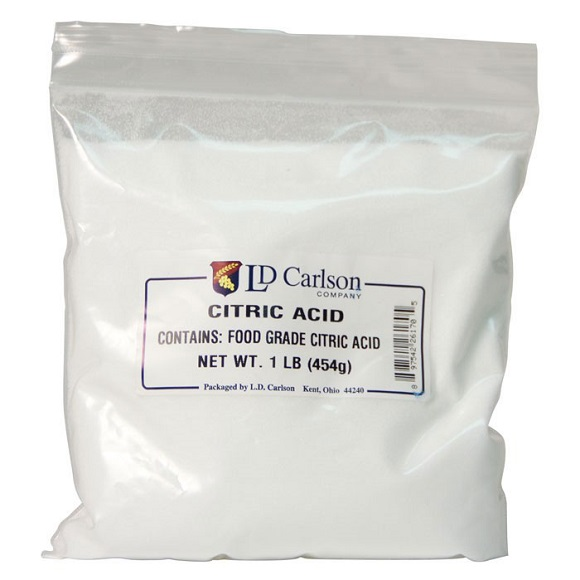 Citric Acid: 1 lb.