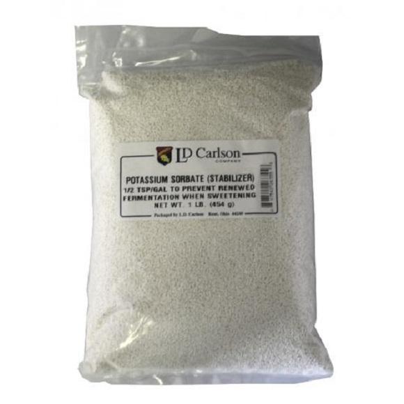 Potassium Sorbate: 1 lb.