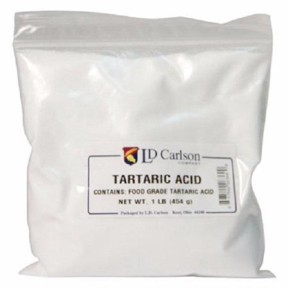 Tartaric Acid: 1 lb.
