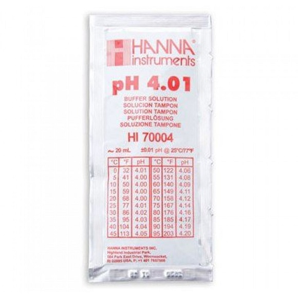 Hanna pH 4 Buffer Solutions