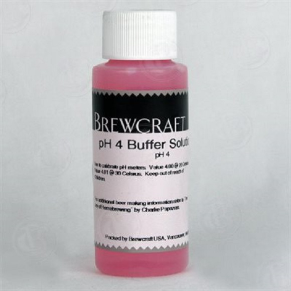 PH 4 Buffer Solutions