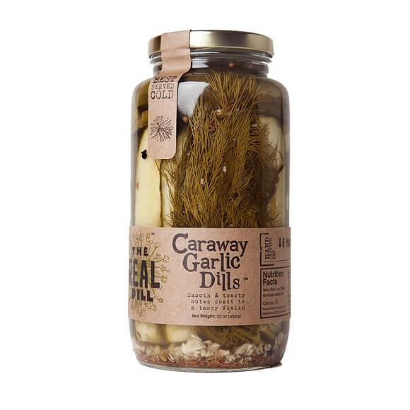 The Real Dill: Caraway Garlic Dills