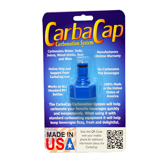 CarbaCap Carbonator for 2 L PET bottle