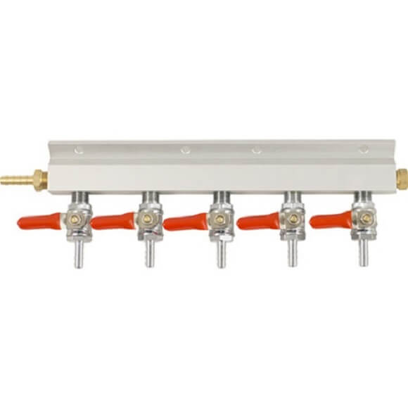 Manifold – 5 Way 1/4″ Barb