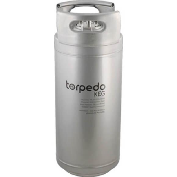 Torpedo Kegs: 5 Gallon