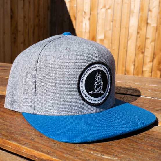Gray/Blue Hat