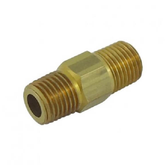 RHT to LHT Hex Nipple 1/4″