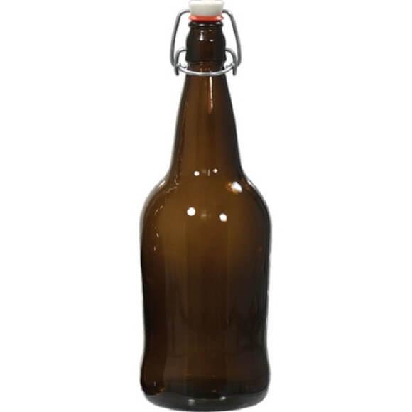 1 Liter Amber EZ Cap Bottles
