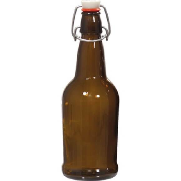 16 oz. Amber EZ Cap Bottle