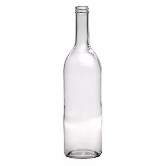 750 ml. Clear Screw Top