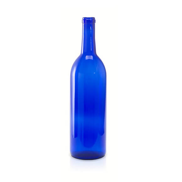 750 ml. Blue Bordeaux