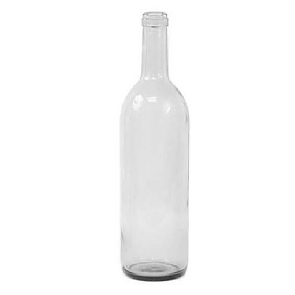 750 ml. Clear Bordeaux