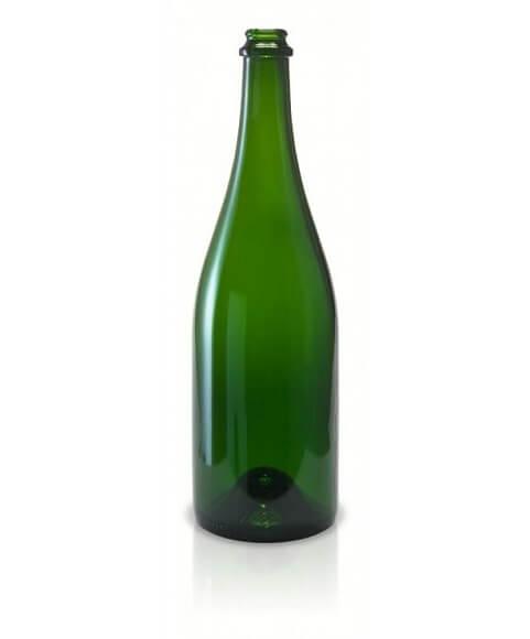 750 ml. Green Champagne
