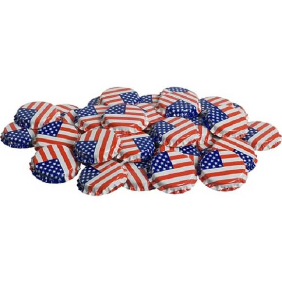 Bottle Caps: USA – 144 Pack