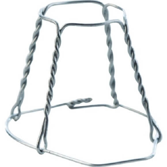 Champagne Wire Cages – 12 Pack