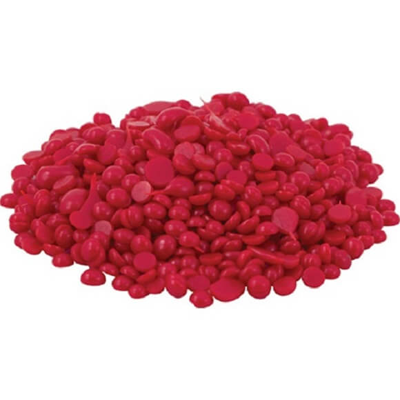 Wax Beads Holiday Red: 1 lb