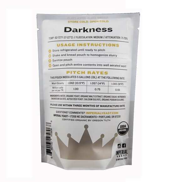 Imperial Yeast: Darkness (A10)