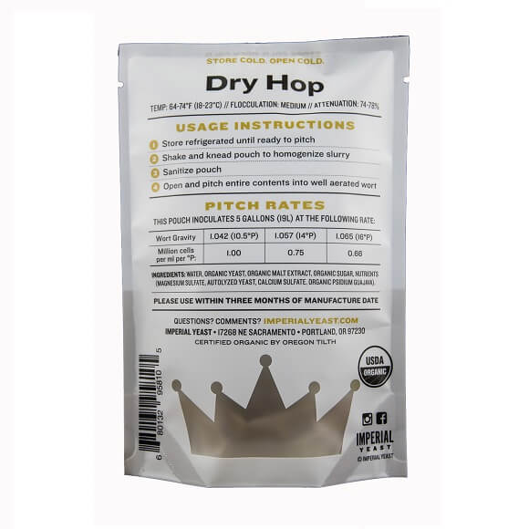 Imperial Yeast: Dry Hop (A24)
