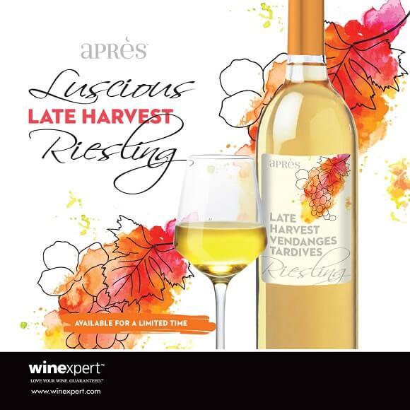 Après Late Harvest Riesling Dessert Wine 11.5L: Pre Order