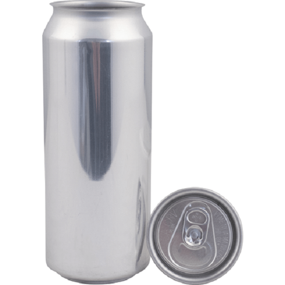Cannular: Can Fresh Aluminum Beer Cans – 500ml/16.9 oz. (Single Can or Case of 207)