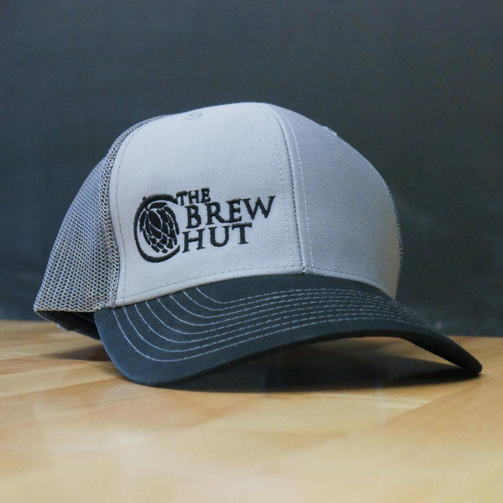 Snap-Back Trucker Hat – Gray/Black