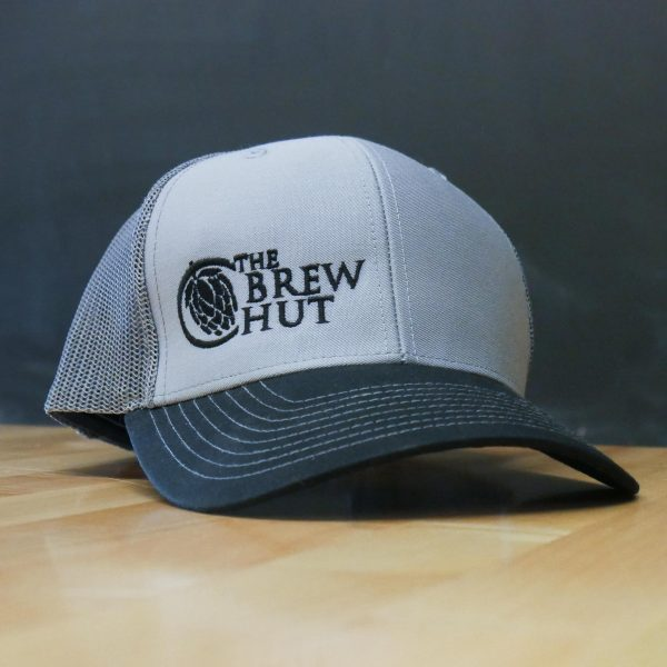 Snap-Back Trucker Hat - Gray/Black