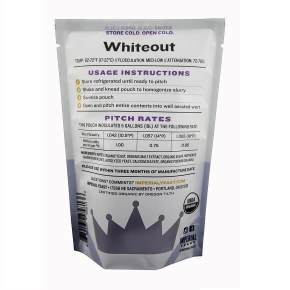 Imperial Yeast: Whiteout (B44)