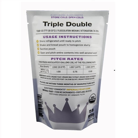 Imperial Yeast: Triple Double (B48)