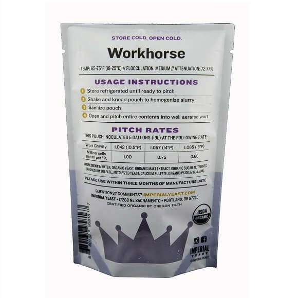Imperial Yeast: Workhorse (B51)