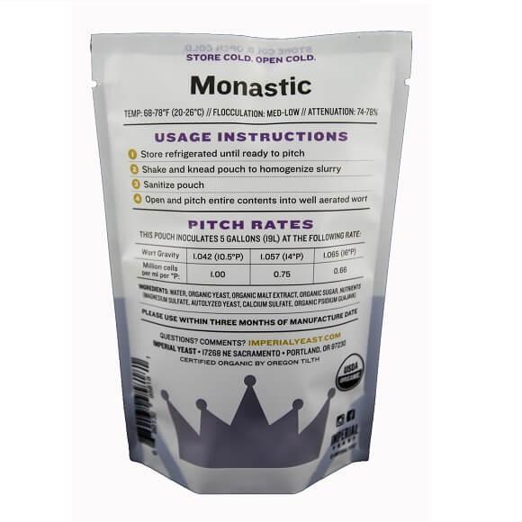 Imperial Yeast: Monastic (B63)